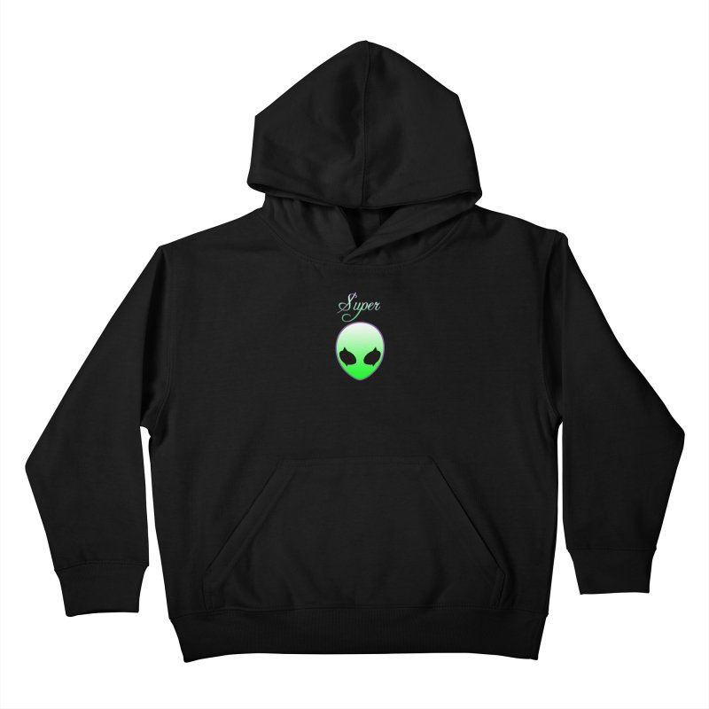 Super Natural Streetwear Kids Pullover Hoody by Coma Free Urban Art & Design