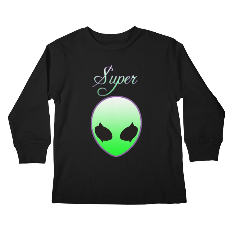Super Natural Streetwear Kids Longsleeve T-Shirt by Coma Free Urban Art & Design