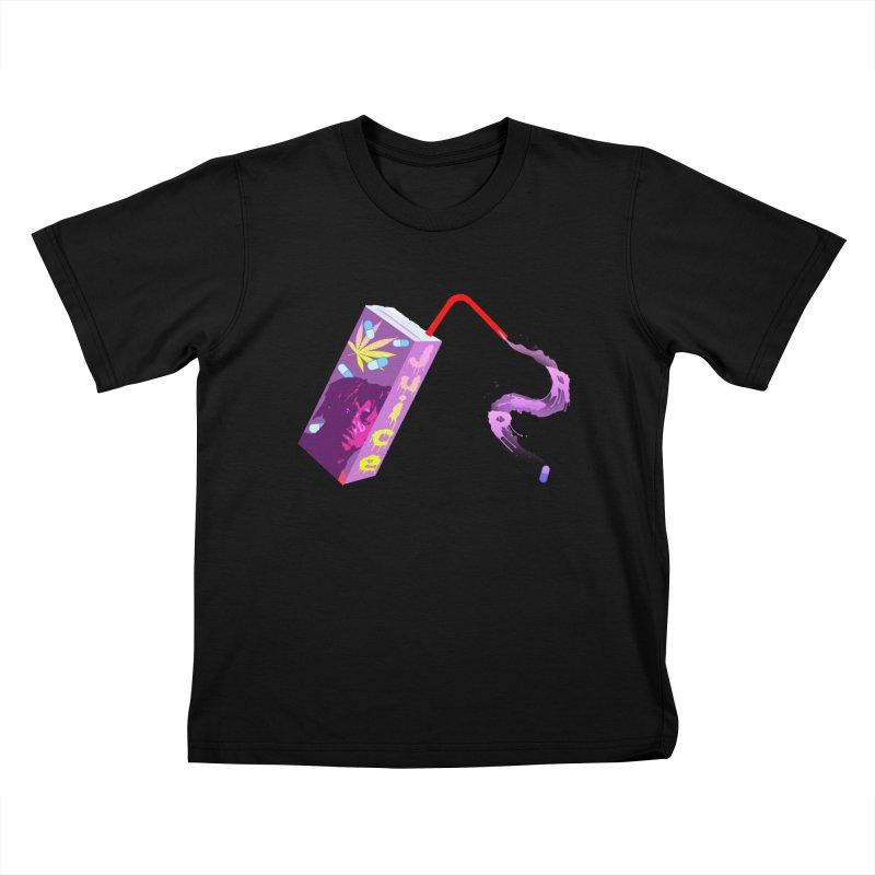 RIP Juice WRLD Original Streetwear Design Kids T-Shirt by Coma Free Urban Art & Design