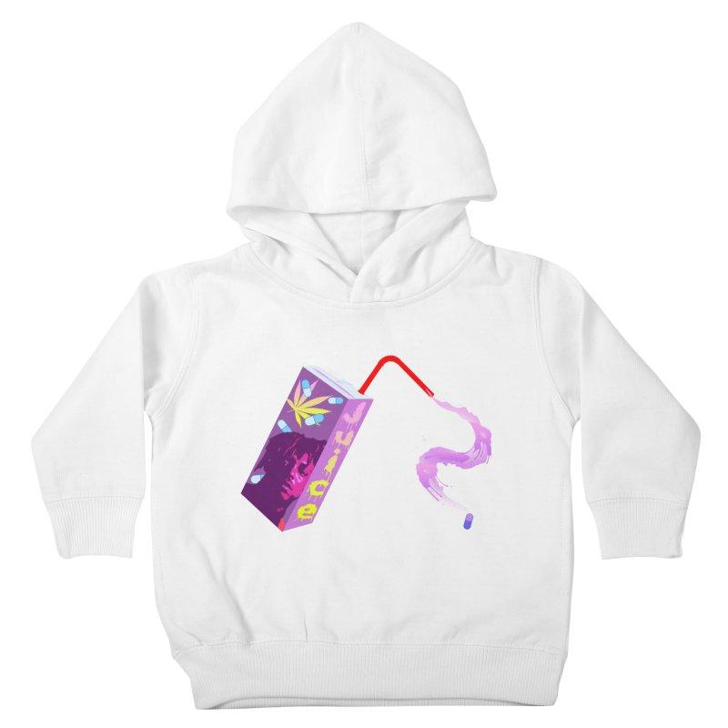 RIP Juice WRLD Original Streetwear Design Kids Toddler Pullover Hoody by Coma Free Urban Art & Design