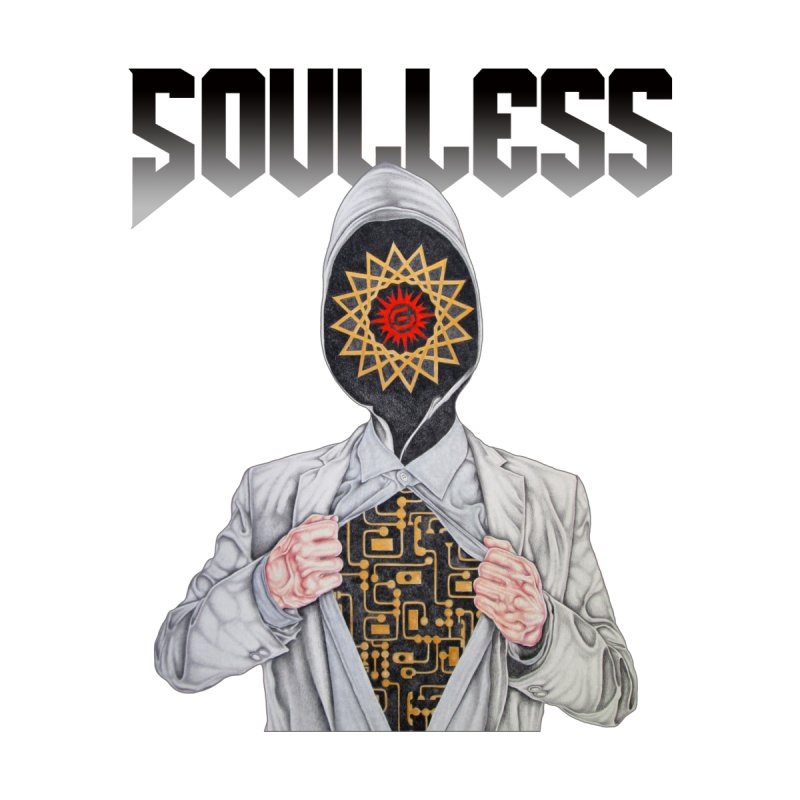 Soulless Globalist T-Shirt Kids T-Shirt by Coma Free Urban Art & Design