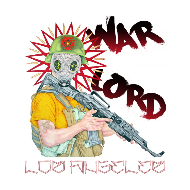 War Lord Los Angeles Graffiti T-Shirt Men's T-Shirt by Coma Free Urban Art & Design