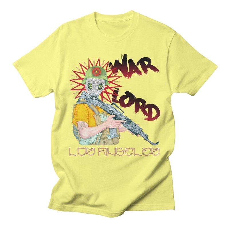 War Lord Los Angeles Graffiti T-Shirt Men's T-Shirt by Coma Free Urban Art & Design