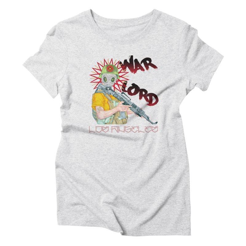 War Lord Los Angeles Graffiti T-Shirt Women's T-Shirt by Coma Free Urban Art & Design