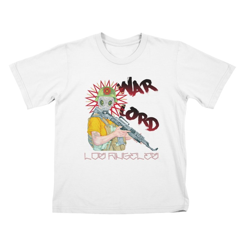 War Lord Los Angeles Graffiti T-Shirt Kids T-Shirt by Coma Free Urban Art & Design