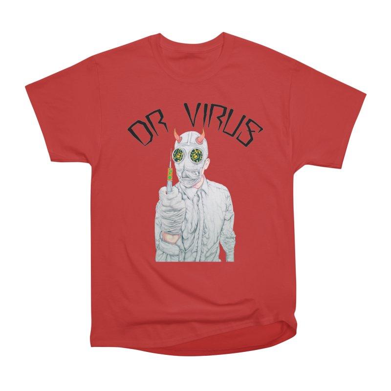 Dr Virus T-Shirt Men's T-Shirt by Coma Free Urban Art & Design