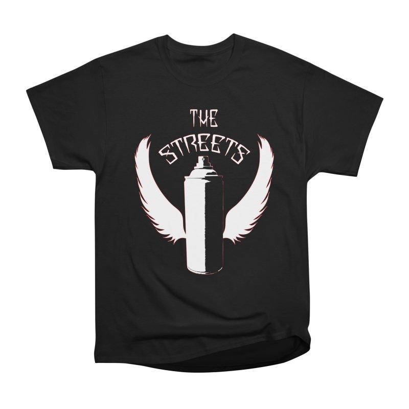 The Streets Graffiti T-Shirt Men's T-Shirt by Coma Free Urban Art & Design