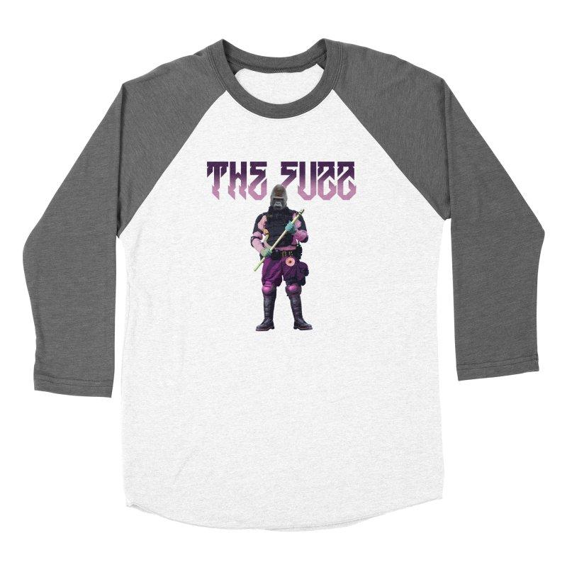 The Fuzz Gorilla T-Shirt Men's Baseball Triblend Longsleeve T-Shirt by Coma Free Urban Art & Design