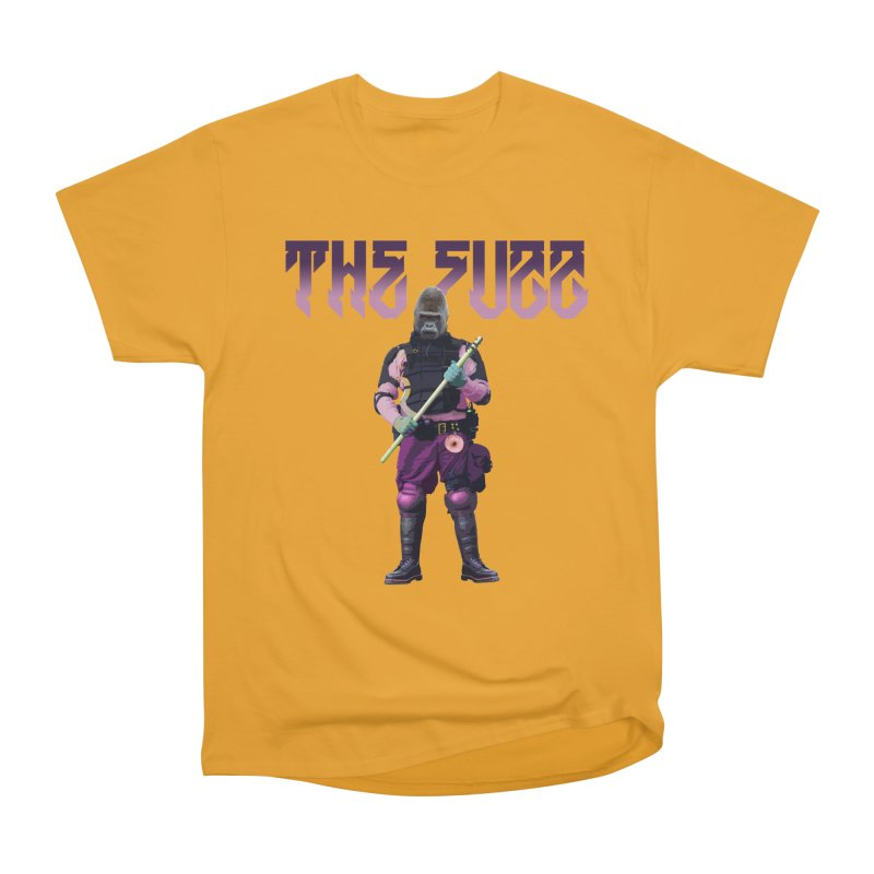 The Fuzz Gorilla T-Shirt Women's Heavyweight Unisex T-Shirt by Coma Free Urban Art & Design