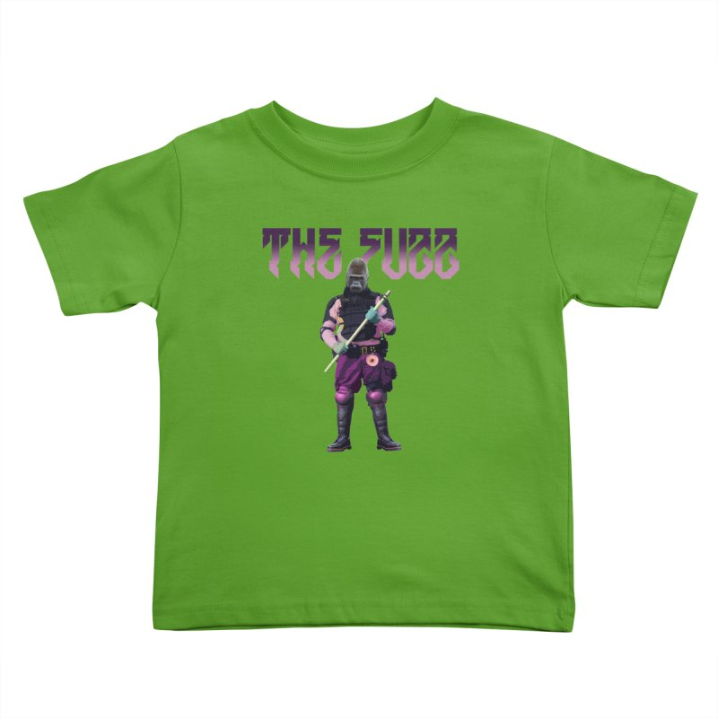 The Fuzz Gorilla T-Shirt Kids Toddler T-Shirt by Coma Free Urban Art & Design