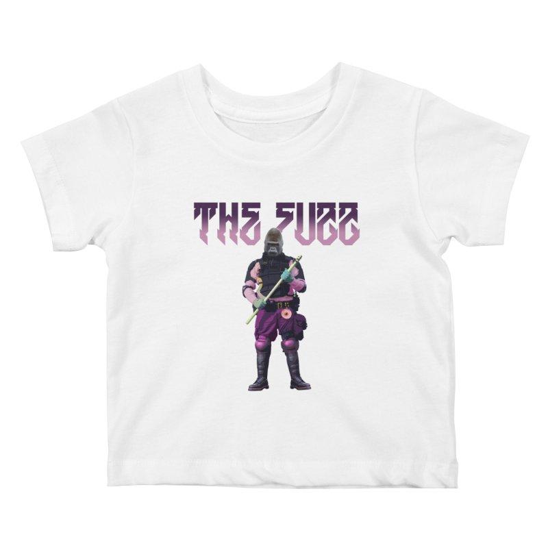 The Fuzz Gorilla T-Shirt Kids Baby T-Shirt by Coma Free Urban Art & Design