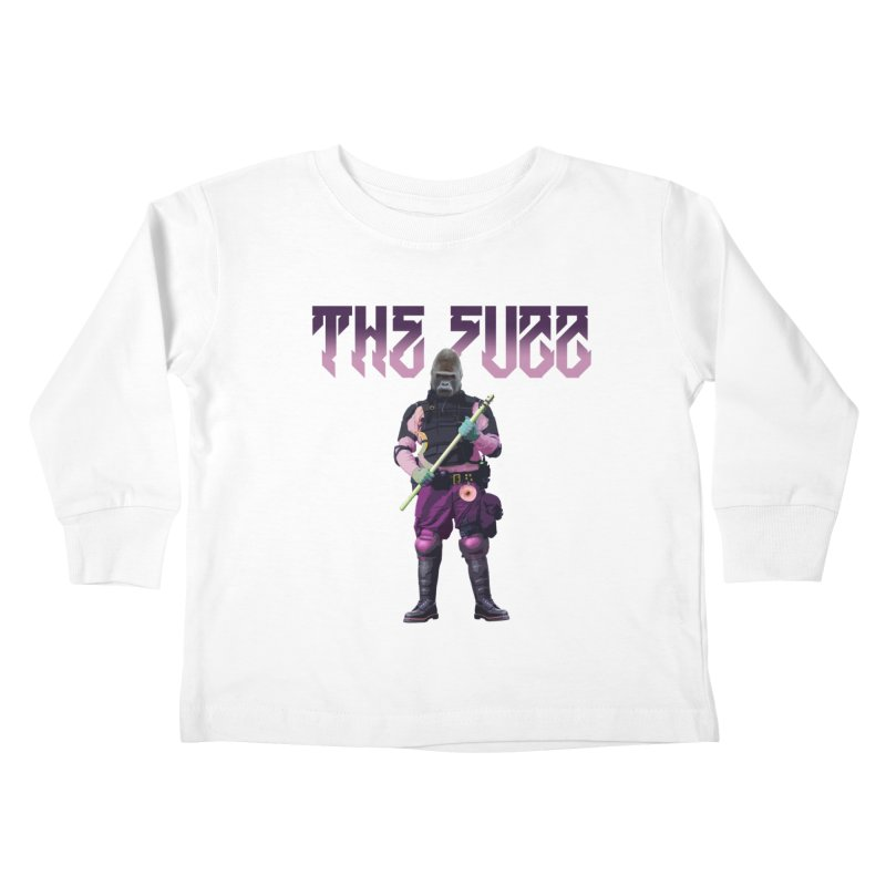 The Fuzz Gorilla T-Shirt Kids Toddler Longsleeve T-Shirt by Coma Free Urban Art & Design