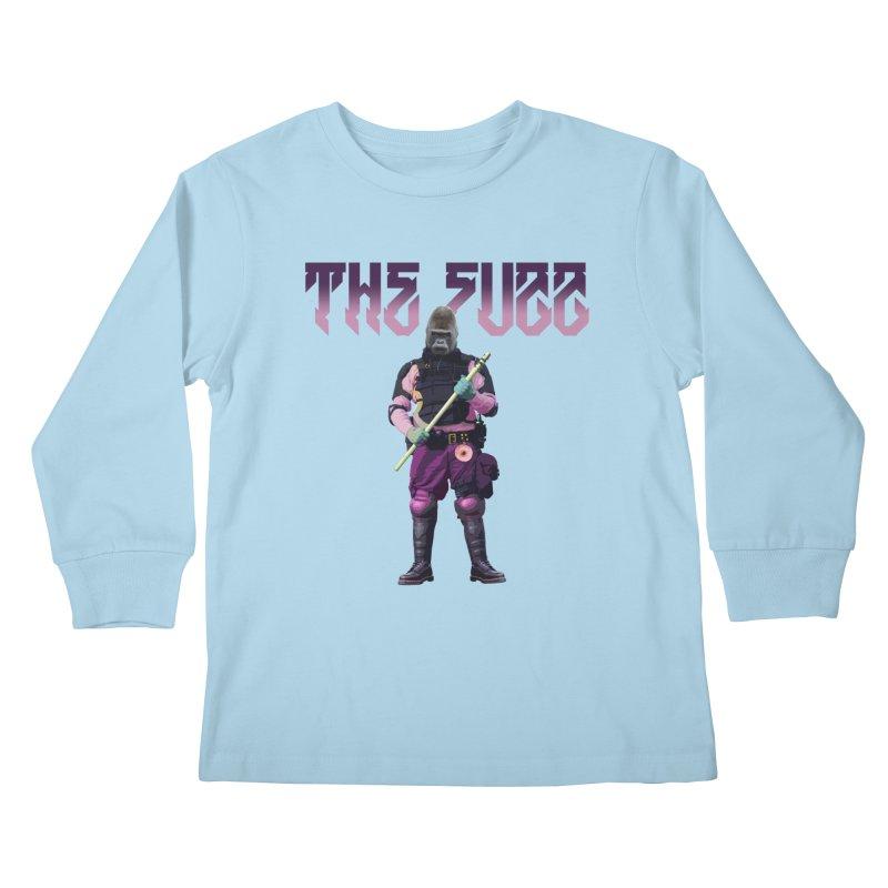 The Fuzz Gorilla T-Shirt Kids Longsleeve T-Shirt by Coma Free Urban Art & Design