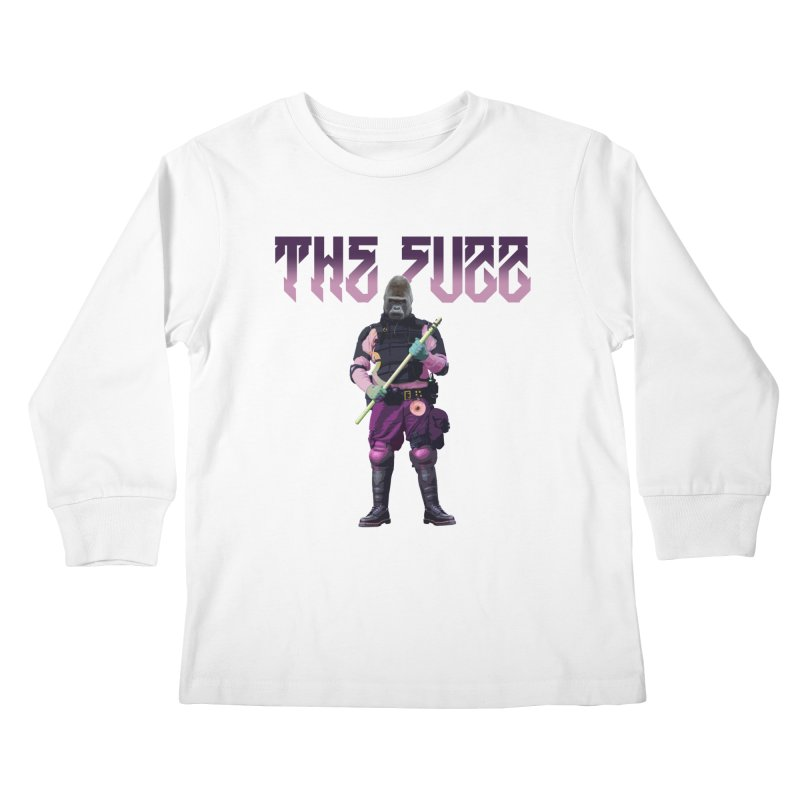 The Fuzz Gorilla T-Shirt Kids Longsleeve T-Shirt by Coma Free Urban Art & Design