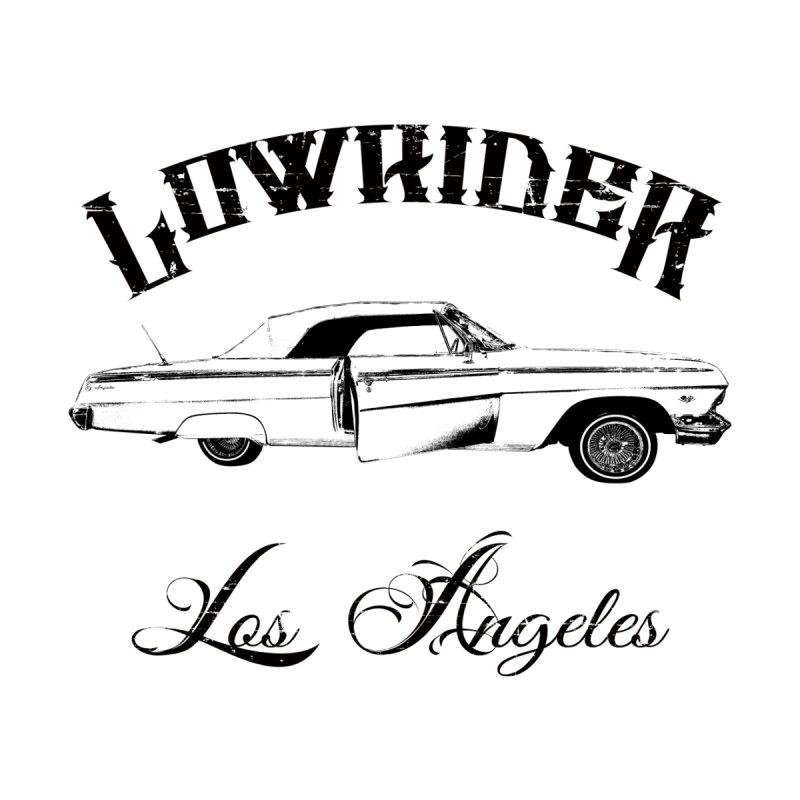 Lowrider Los Angeles T-Shirt Men's Longsleeve T-Shirt by Coma Free Urban Art & Design