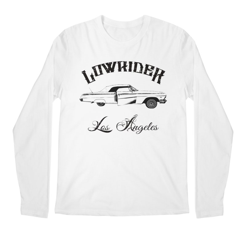 Lowrider Los Angeles T-Shirt Men's Regular Longsleeve T-Shirt by Coma Free Urban Art & Design