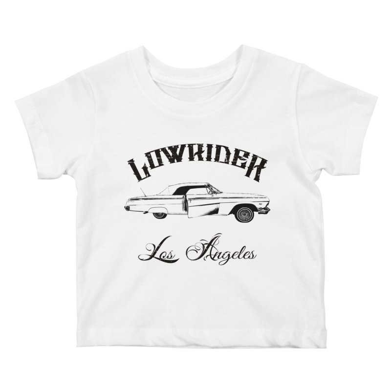 Lowrider Los Angeles T-Shirt Kids Baby T-Shirt by Coma Free Urban Art & Design
