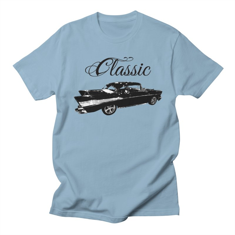 Classic 57 T-Shirt Women's Regular Unisex T-Shirt by Coma Free Urban Art & Design