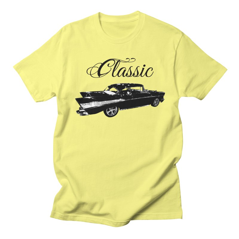 Classic 57 T-Shirt in Men's Regular T-Shirt Lemon by Coma Free Urban Art & Design