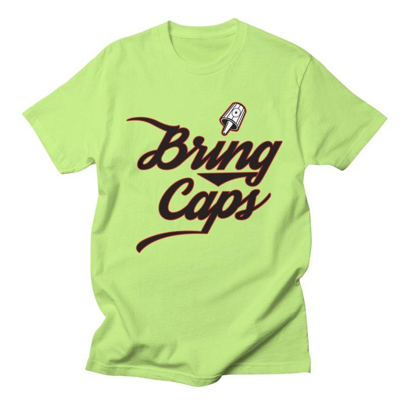 Black & Red Bring Caps Graffiti Streetwear V4 Women's T-Shirt by Coma Free Urban Art & Design