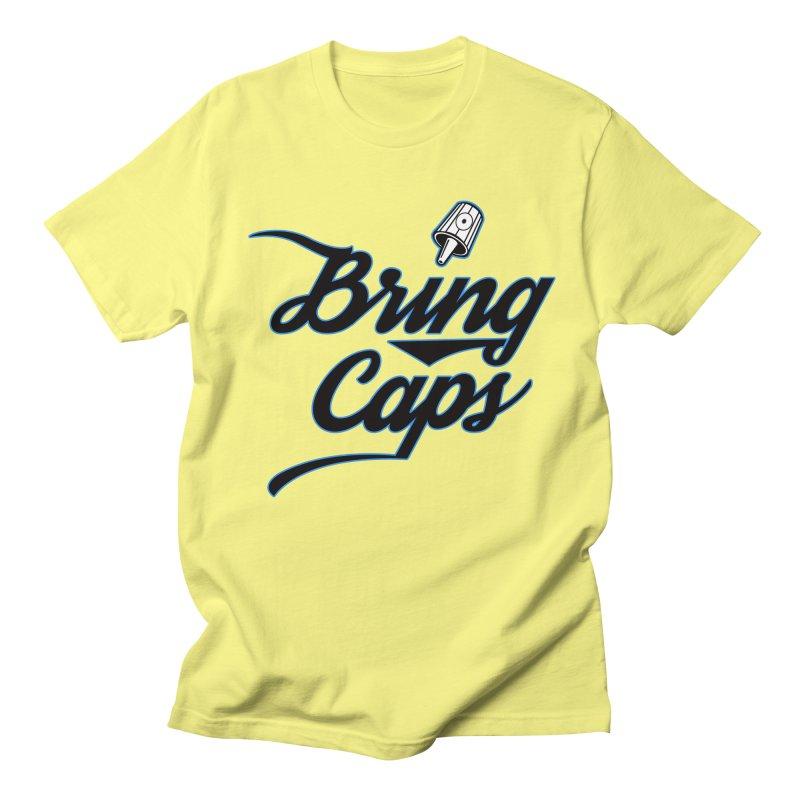 Black & Blue Bring Caps Streetwear V5 Women's T-Shirt by Coma Free Urban Art & Design