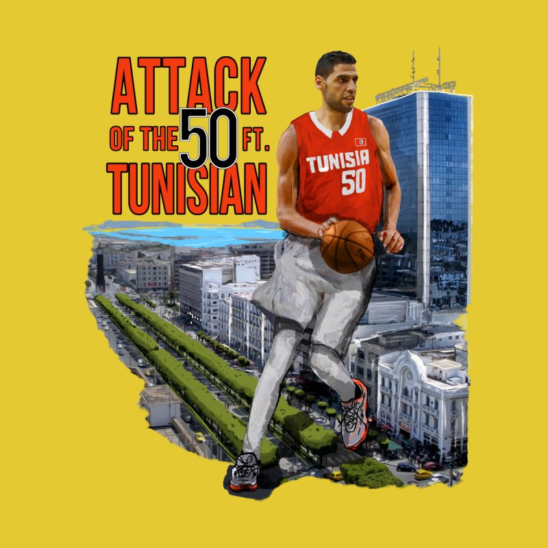 TUNISIAN TOWER by comedy and basketball + shop