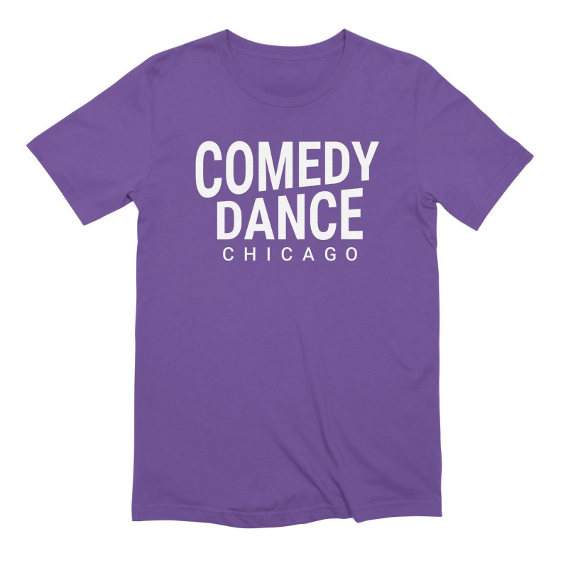 Comedy Dance Chicago (white) Men's T-Shirt by Comedy Dance Chicago