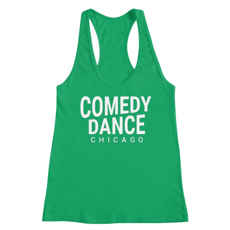 Comedy Dance Chicago (white) Women's Tank by Comedy Dance Chicago