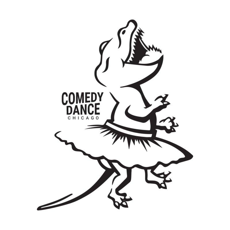 CDC T-Rex (b&w) Women's T-Shirt by Comedy Dance Chicago
