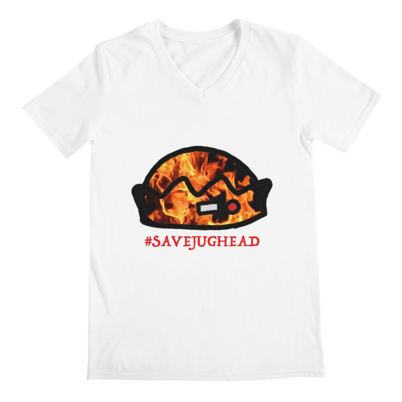 #SaveJughead Men's V-Neck by Comic Book Club Official Shop