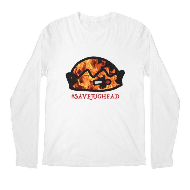 #SaveJughead Men's Regular Longsleeve T-Shirt by Comic Book Club Official Shop