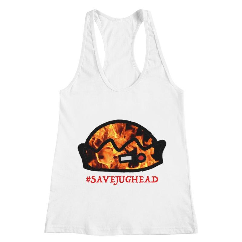 #SaveJughead Women's Racerback Tank by Comic Book Club Official Shop