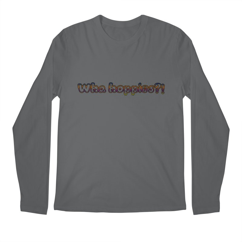 Wha Hoppies?! Men's Longsleeve T-Shirt by Comic Book Club Official Shop