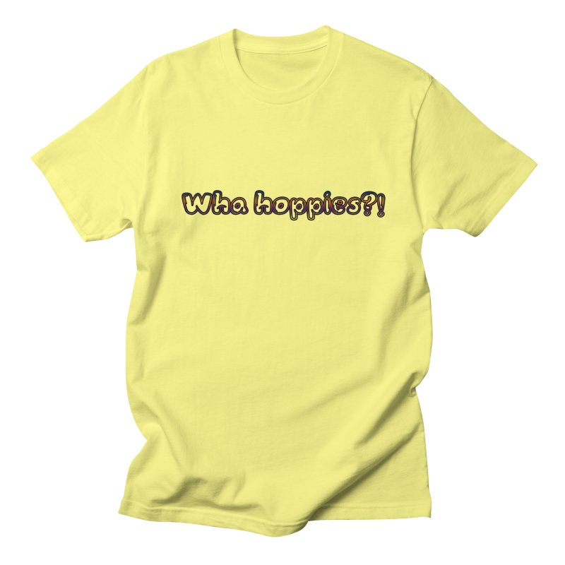 Wha Hoppies?! Men's Regular T-Shirt by Comic Book Club Official Shop