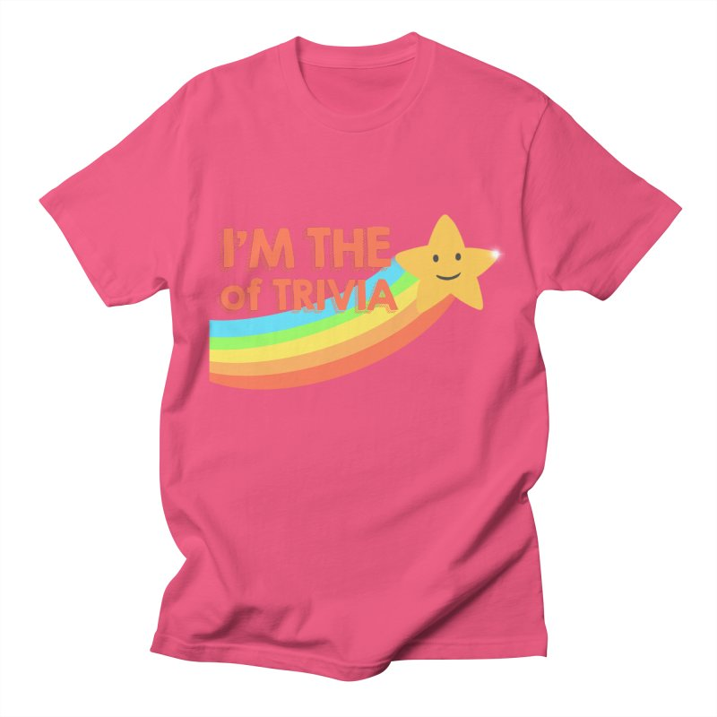 The Star of Trivia Men's T-Shirt by Comic Book Club Official Shop