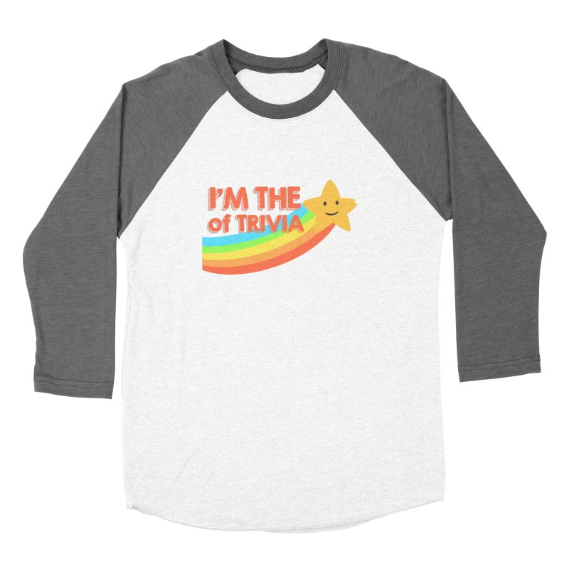 The Star of Trivia Women's Longsleeve T-Shirt by Comic Book Club Official Shop