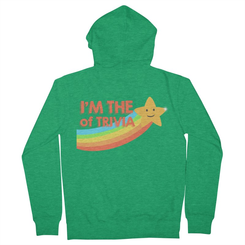 The Star of Trivia Women's Zip-Up Hoody by Comic Book Club Official Shop
