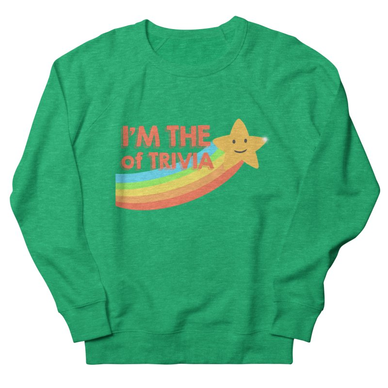 The Star of Trivia Women's Sweatshirt by Comic Book Club Official Shop