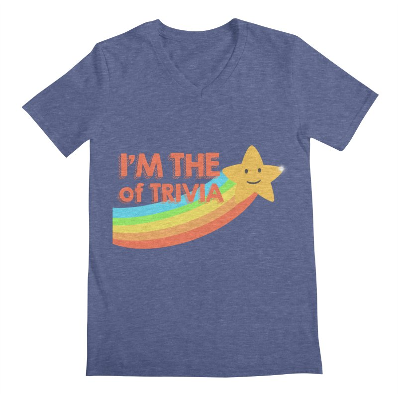 The Star of Trivia Men's Regular V-Neck by Comic Book Club Official Shop