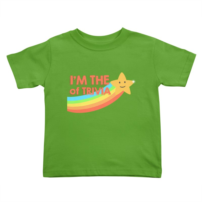 The Star of Trivia Kids Toddler T-Shirt by Comic Book Club Official Shop