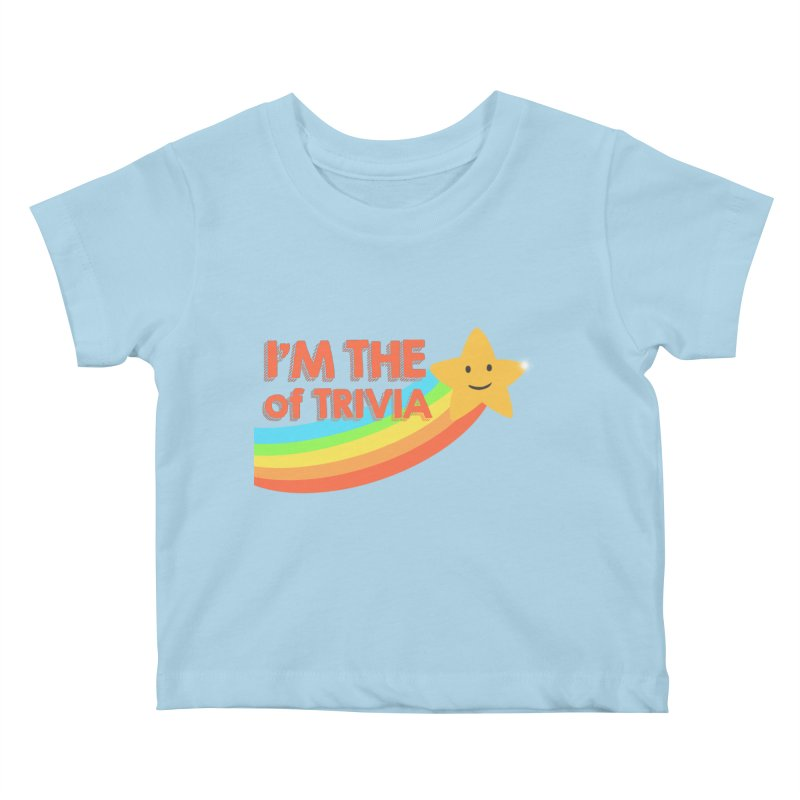 The Star of Trivia Kids Baby T-Shirt by Comic Book Club Official Shop