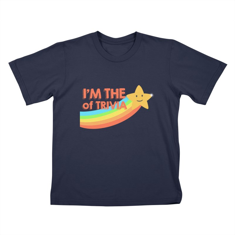 The Star of Trivia Kids T-Shirt by Comic Book Club Official Shop