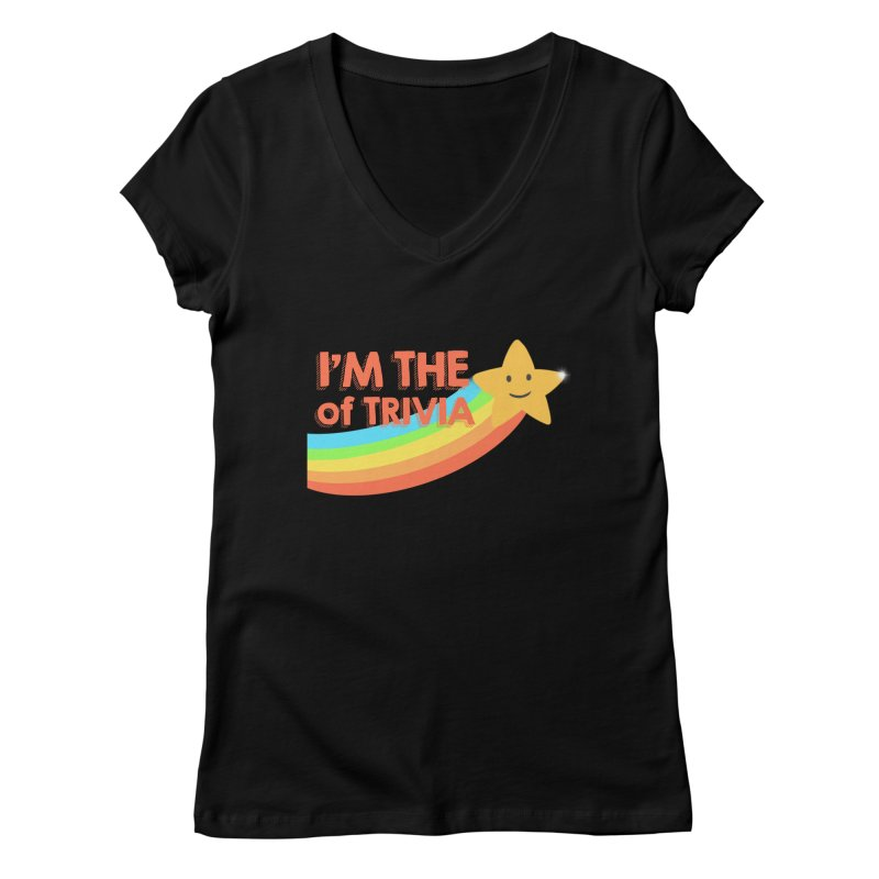 The Star of Trivia Women's V-Neck by Comic Book Club Official Shop