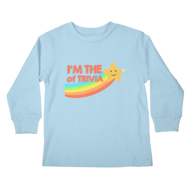 The Star of Trivia Kids Longsleeve T-Shirt by Comic Book Club Official Shop