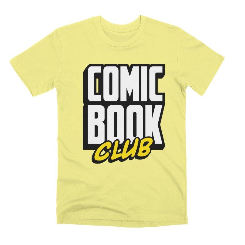 Comic Book Club Men's Premium T-Shirt by Comic Book Club Official Shop