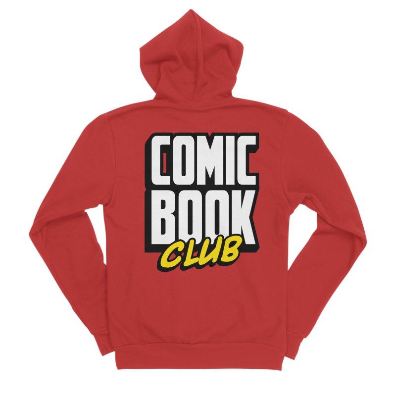 Comic Book Club Men's Zip-Up Hoody by Comic Book Club Official Shop