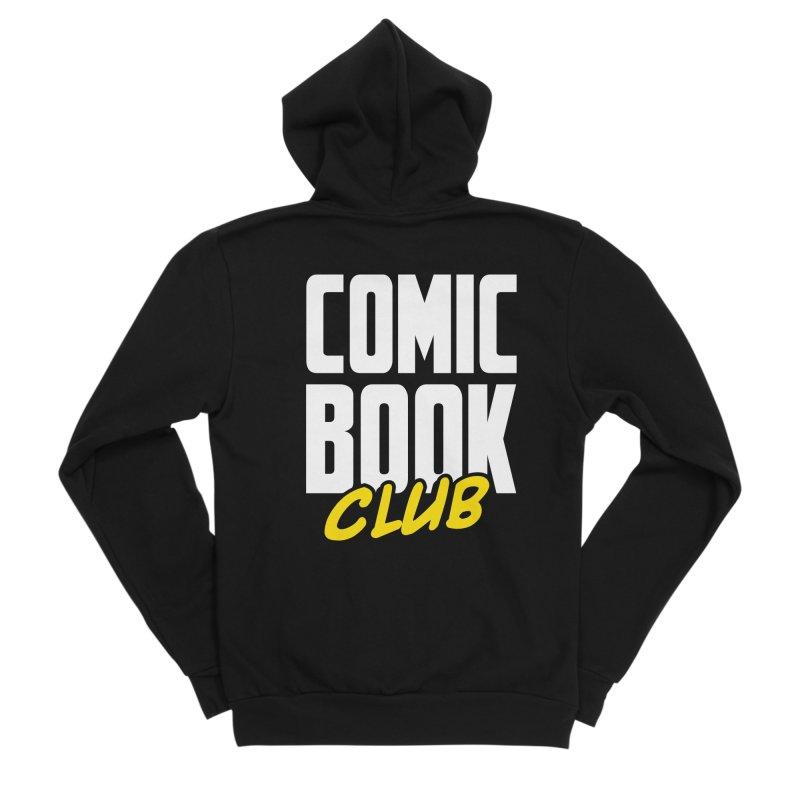 Comic Book Club Men's Sponge Fleece Zip-Up Hoody by Comic Book Club Official Shop