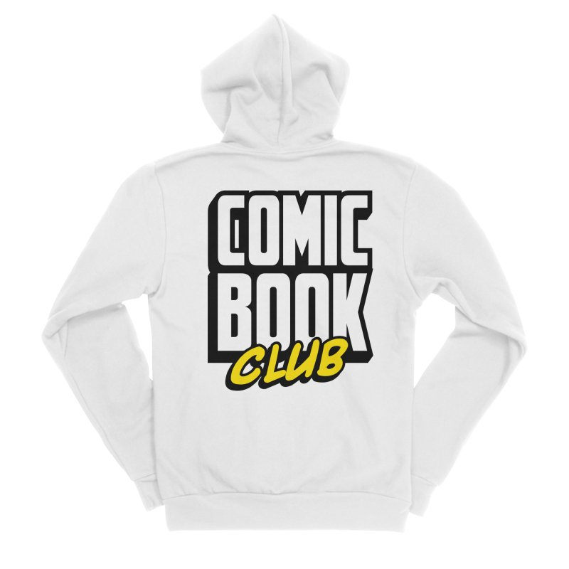 Comic Book Club Women's Sponge Fleece Zip-Up Hoody by Comic Book Club Official Shop