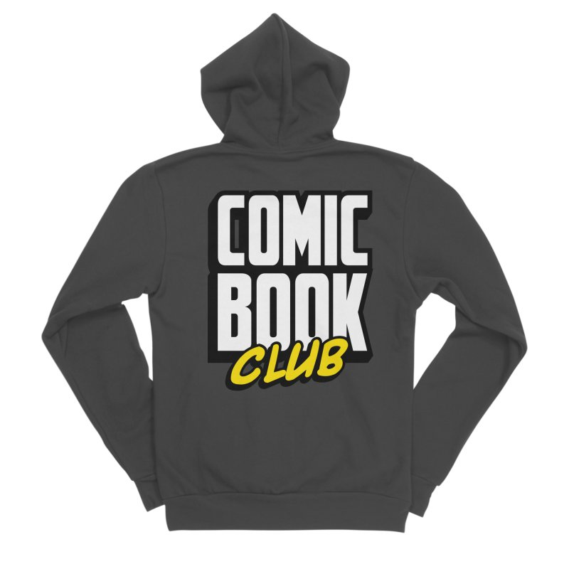 Comic Book Club Men's Sponge Fleece Zip-Up Hoody by Comic Book Club Official Shop