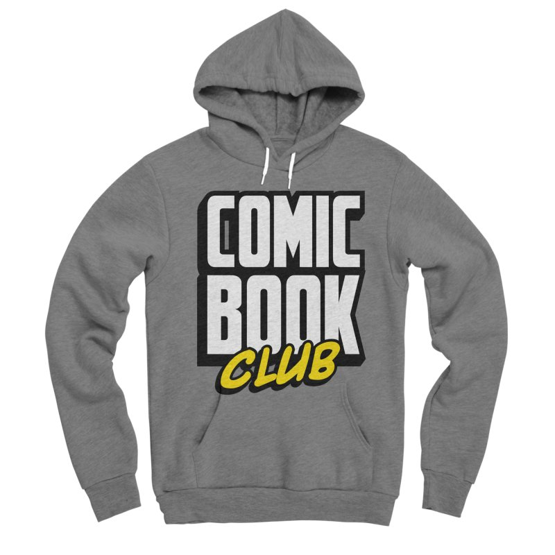 Comic Book Club Men's Sponge Fleece Pullover Hoody by Comic Book Club Official Shop